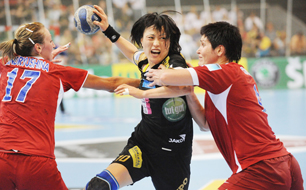 Handball Szene Damen