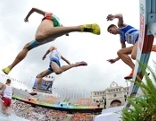 Leichtathletik Hindernis