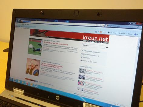 Homepage kreuz.net