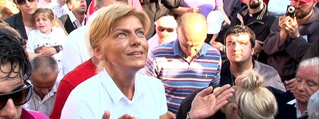 Seherin Mirjana in Medjugorje