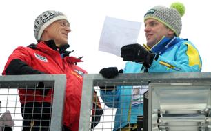 Armin Kogler und Toni Innauer