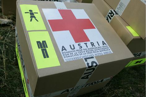 Team Österreich, Rotes Kreuz, Einsatz, Mitglieder