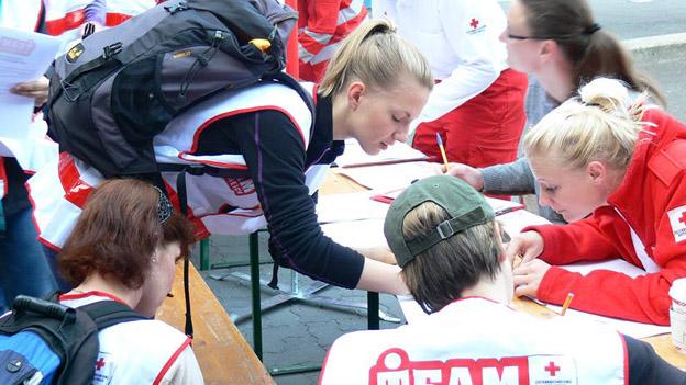 Helfer, werde Teil des Team Österreich, Quelle: Facebook