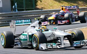 Lewis Hamilton Ungarn