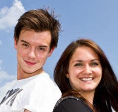Philipp Hansa und Gabi Hiller