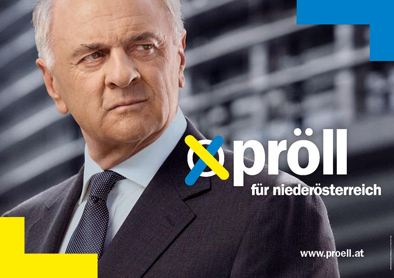 Wahlplakat der ÖVP Niederösterreich