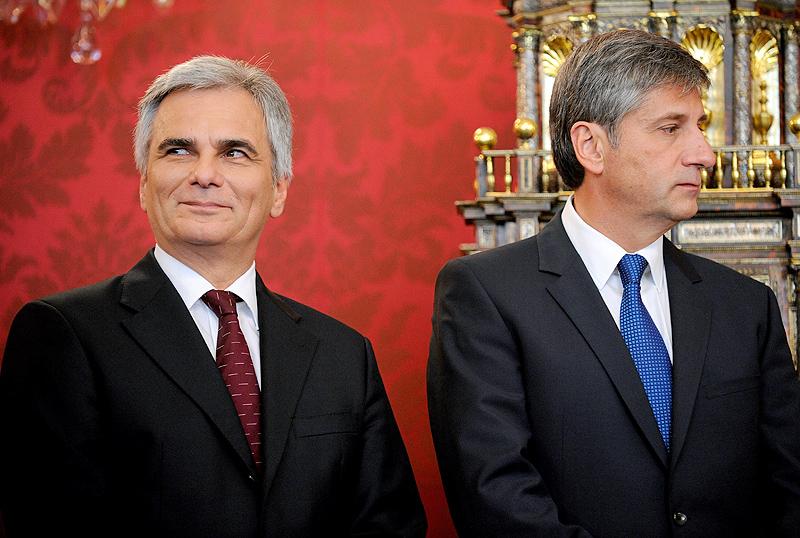 Werner Faymann und Michael Spindelegger