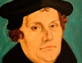 Portait von Martin Luther.