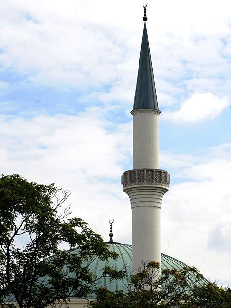 Große Moschee in Wien-Floridsdorf