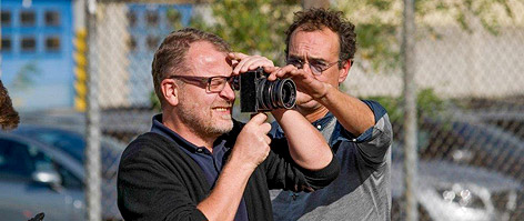 "Stefan Ruzowitzky bei den Dreharbeiten zu ""Das Radikal Böse"""