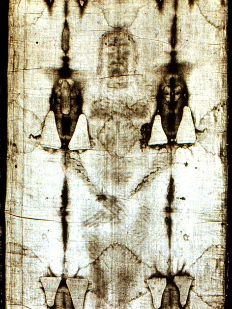 Das Turiner Grabtuch (Ausschnitt)