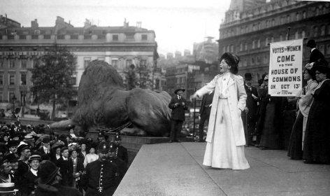 Rebellisch, kämpferisch: Die Suffragetten
