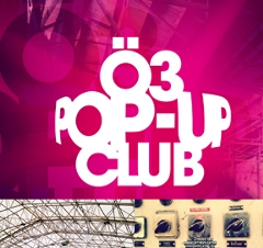 Eventsujet Ö3 Pop-Up Club
