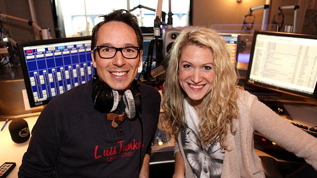Olivia Peter und Peter L. Eppinger im Ö3-Studio