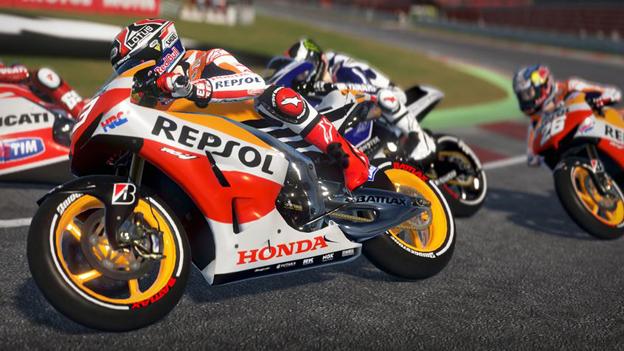 """Screenshot """"Moto GP 2014"""""""