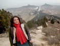Bettany Hughes in China