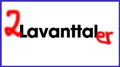 Angespraytes Schild mit der Aufschrift Lavanttal