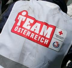 Team Österreich - Mitglieder im Einsatz, Hochwasser - Hilfe
