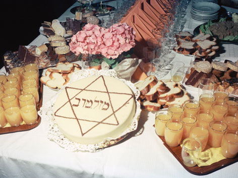 jüdisches museum beleuchtet begriff