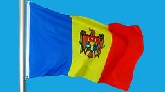 Die Flagge von Moldawien