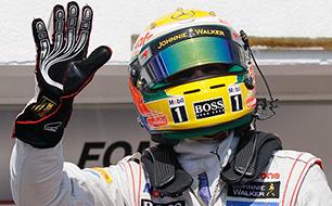 Hamilton, Formel 1