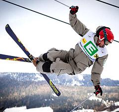 Freestyler beim Jump