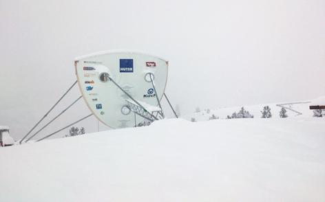 Skizze Schneegenerator