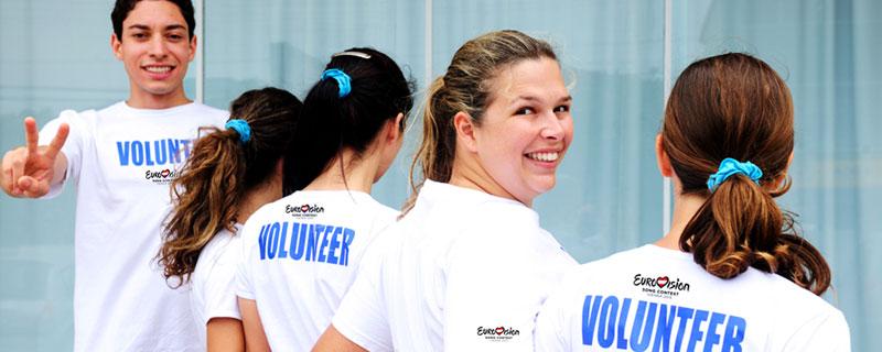 Volunteers beim Eurovision Song Contest 2014