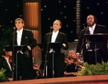 Im Bild: Placido Domingo, Jose Carreras, Luciano Pavarotti.