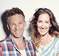 Kati Bellowitsch und Andi Knoll