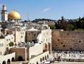 Die Klagemauer und der Felsendom in Jerusalem