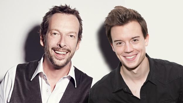 Robert Kratky und Philipp Hansa