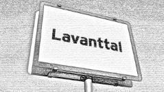 """Ortstafel """"Lavanttal"""""""