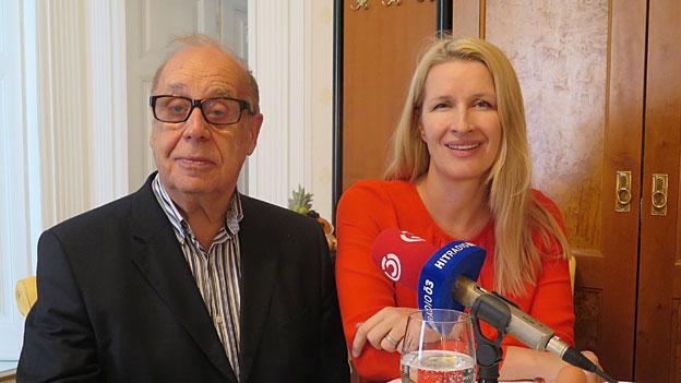 Jean Ziegler/Claudia Stöckl