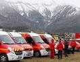 Einsatzfahrzeuge in Seyne les Alpes