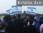 """Teilnehmer am """"March of the Living"""" im KZ Auschwitz"""