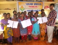 Übergabe einer Petition gegen Ausbeutung in Südindien (Tamil Nadu)