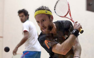 Squash-Spieler Peter Creed