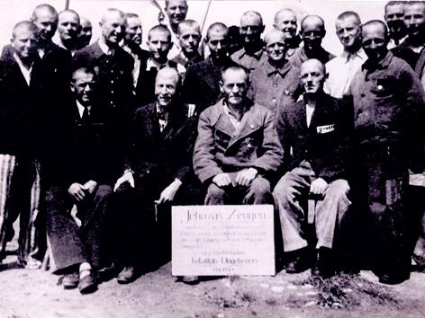 Zeugen Jehovas im KZ Mauthausen, Mai 1945