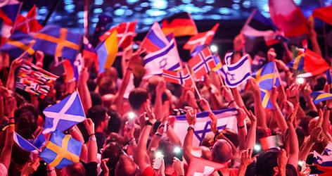 Fans beim ESC