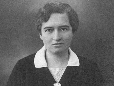 Hildegard Burjan, Porträt, 1928