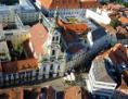 Luftaufnahme der Kirche Mariä Verkündigung