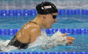 Lisa Zaiser, Schwimmen