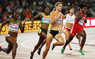 Dafne Schippers, Leichtathletik-WM