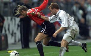 Roman Mählig, David Beckham, Sturm Graz