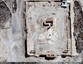 Palmyra Tempel Luftaufnahme