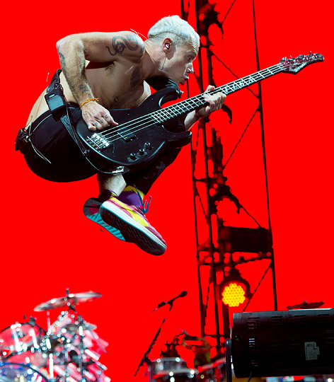 Flea von den Red Hot Chili Peppers