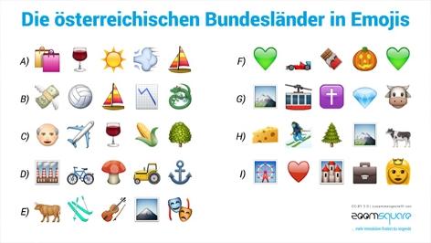emoji quiz welches bundesland suchen wir oe3. Black Bedroom Furniture Sets. Home Design Ideas