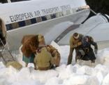 Notlandung in den Alpen