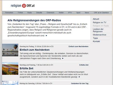 """Religion im Radio"" - religion.ORF.at"